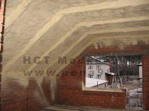 Потолок мансарды