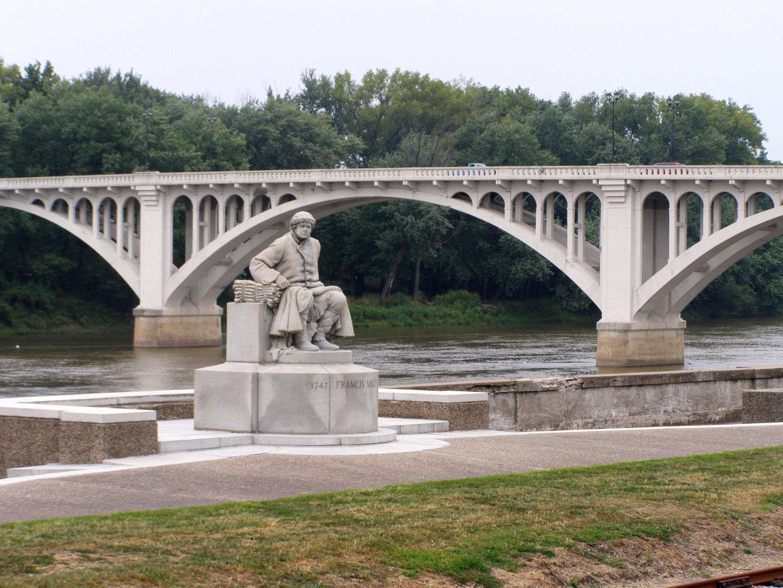Мост из стеклофибробетона