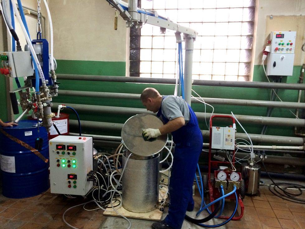Оборудования для напыления пенополиуретана своими руками 16