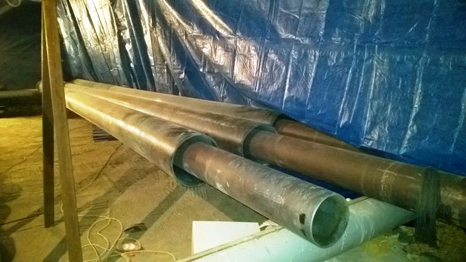 Оборудование для заливки предизолированных труб
